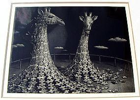 Atsuo Sakazume Mezzotint - Japanese Modern