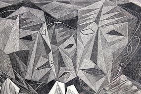 Isaac Friedlander Social Realist New York 20th Century