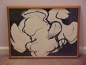 Lloyd Ray Ney - PAFA, New Hope, Pa. Modernist